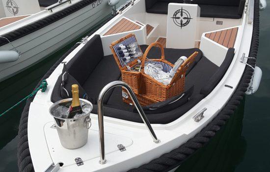 book a boat mallorca boat rental boat hire alcudia silver 496
