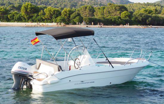 book a boat mallorca boat rental boat hire alcudia oceanmaster